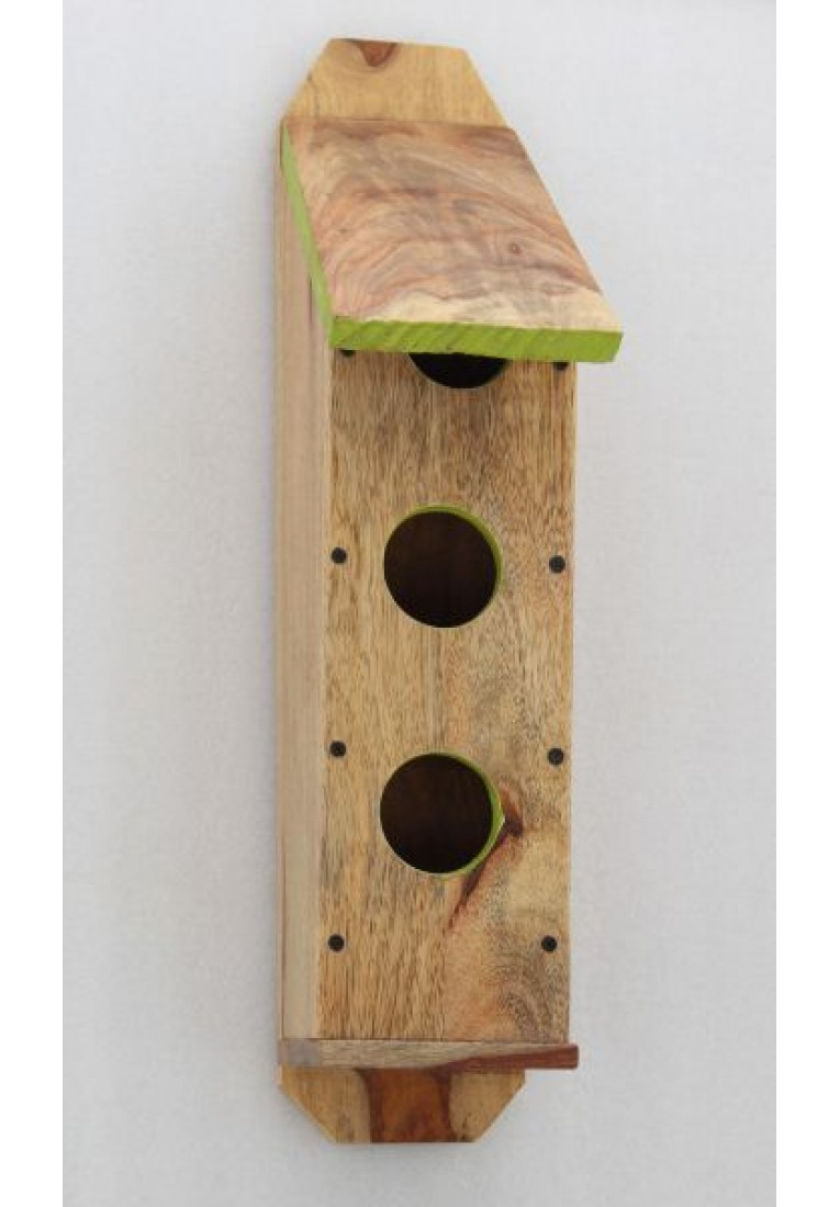 Triplex Tower - Three Entry Birdhouse