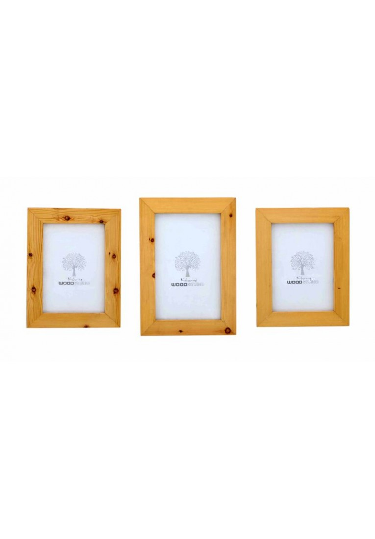 Pine Troop - Picture Frame - Set of Three