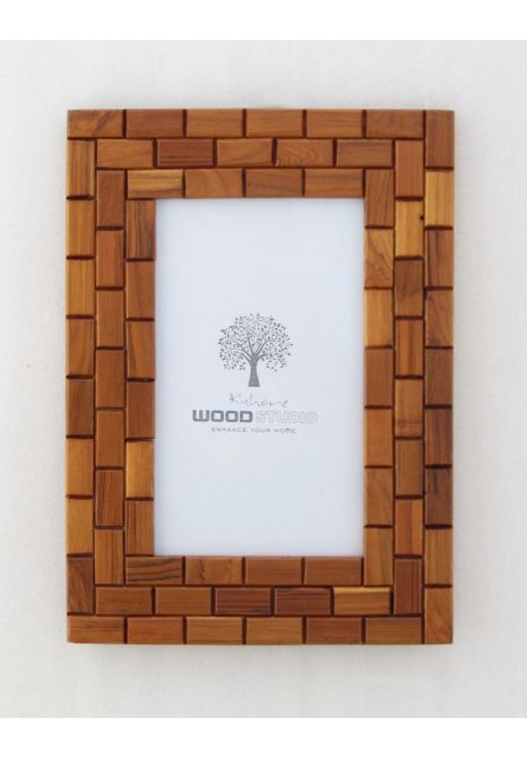 Brick Circle - Picture Frame