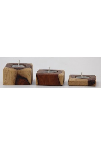 Square Folk - Set of Three
