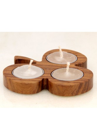 The Leaf  - Three in one Tea Light Holder